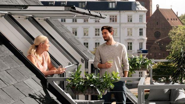 Differenza tra abbaino e finestra per tetti, anche nella versione balcone
