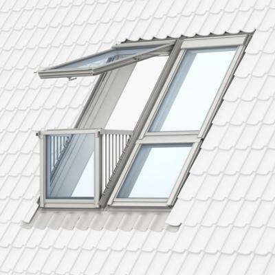 Cabrio VELUX finestra balcone per tetti