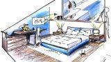 Camera da letto in mansarda: idee d'arredo