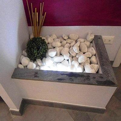 Idea décor in cartongesso per salone: realizzazione Edile Cartongesso