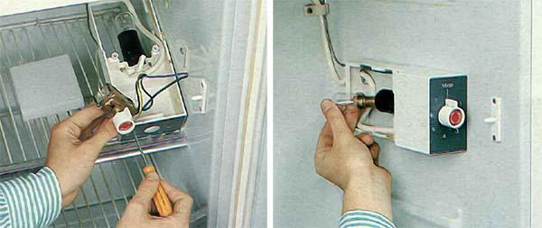 Riparare il termostato di un frigorifero in fai da te