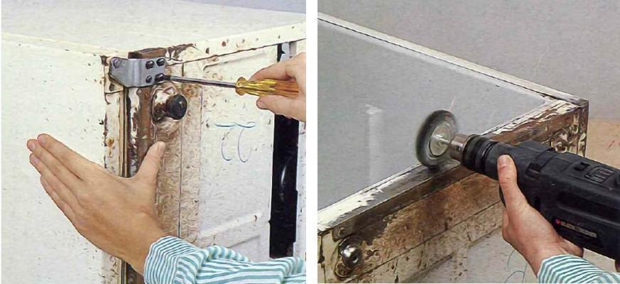 Eliminare la ruggine dal frigorifero