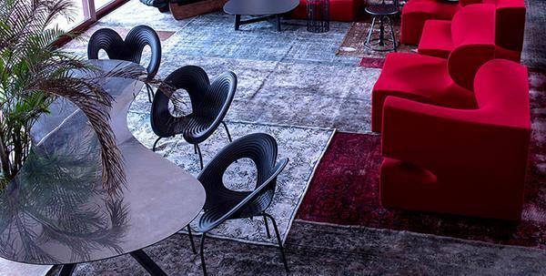Sedie impilabili salvaspazio Ripple Chair di Moroso