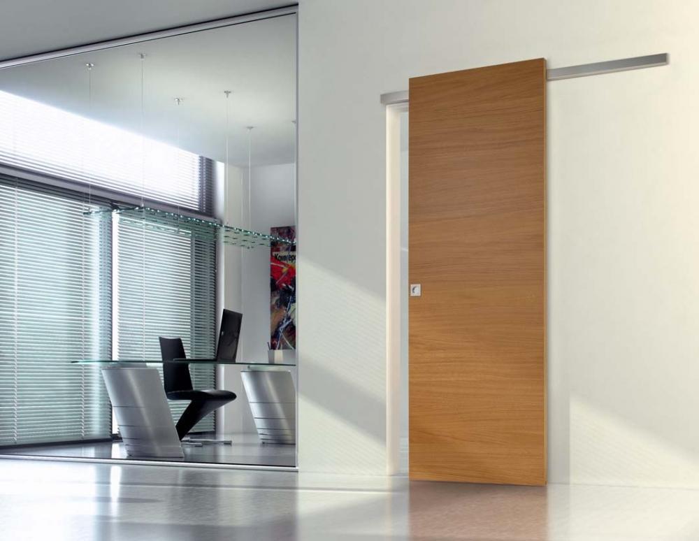 Foto porte scorrevoli in legno for Porta scorrevole esterna ikea