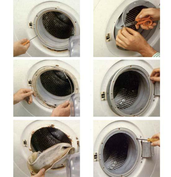 Sostituzione della guarnizione della lavatrice