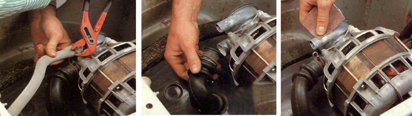 La sostituzione del motore di una lavatrice col fai da te