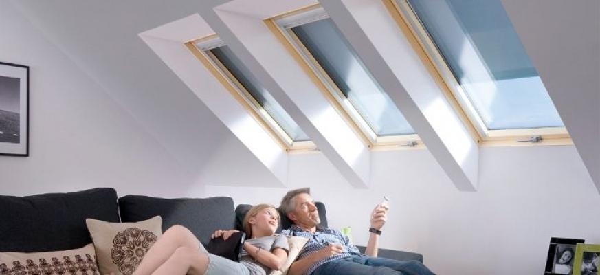 Finestre da tetto Fakro per zona relax