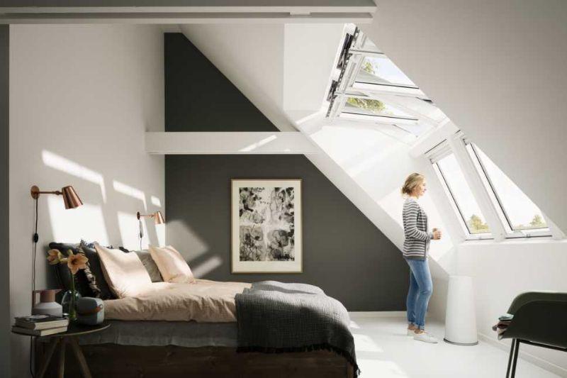Finestre combinate per tetti Velux