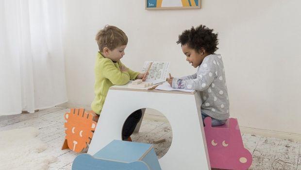 Sgabelli per le camerette dei bimbi e dei ragazzi