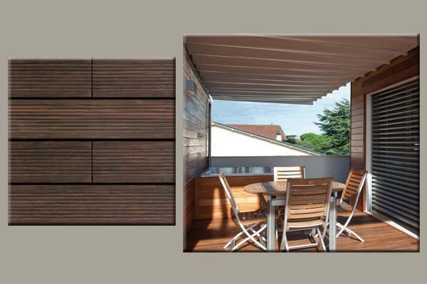 Pavimento in legno per esterni - Pavimento terrazzo esterno ...