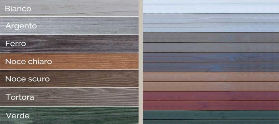 Colori pavimenti di legno per esterno Onlywood