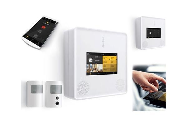 Impianto allarme wireless, dispositivi Silentron s.p.a. per sistemi antifurto senza fili