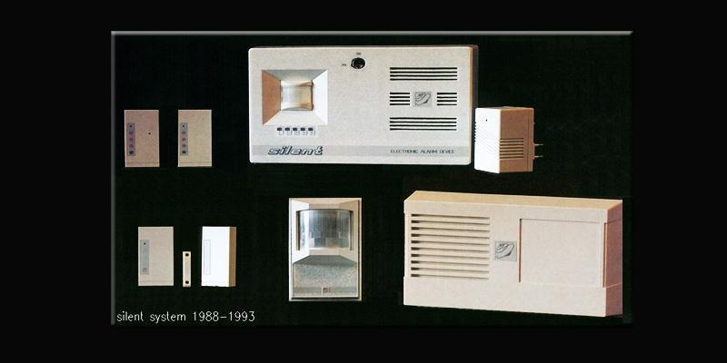 Sistema di allarme wireless Silentron s.p.a.