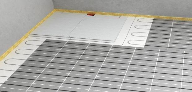 Sistema con sottofondo Fermacell per pavimenti radianti