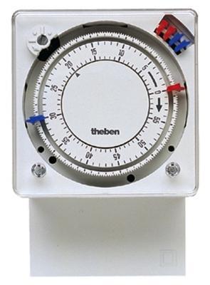 Interruttori intelligenti, modello temporizzato analogico con programmazione su base oraria, di Theben