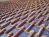 Tegola fotovoltaica integrata nella copertura