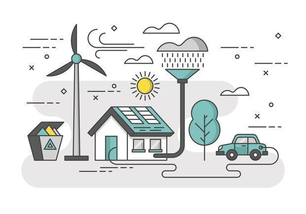 Casa ad energie rinnovabili