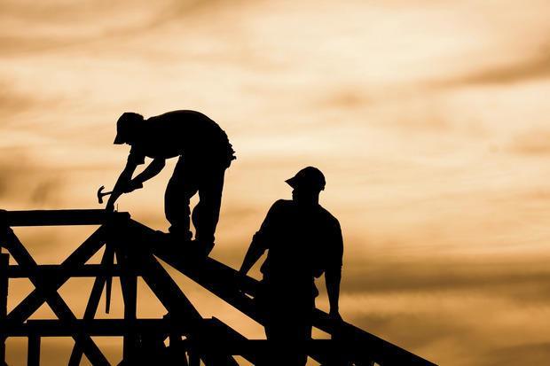 Casa-lavori di costruzione
