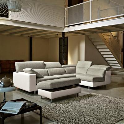 divano a isola per interni ed esterni