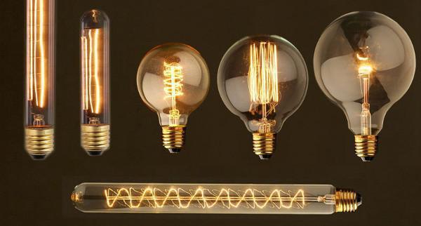 Lampade Vintage della Casa delle Lampadine
