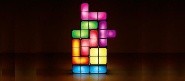 Lampada Tetris dell'azienda Paladone