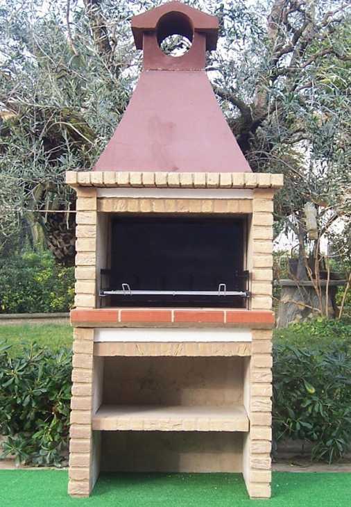 Barbecue da giardino, BarbecueMania Mod. Palma