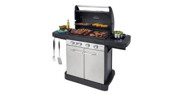 Barbecue domestico da giardino- Campingaz Master 4