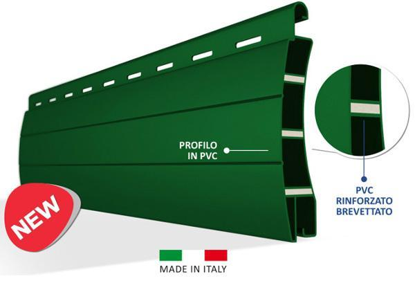 Avvolgibili PVC: tapparella rinforzata anti grandine
