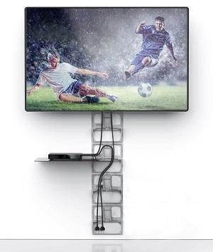 Posizionare la tv con Ghost Cubes Meliconi copricavi