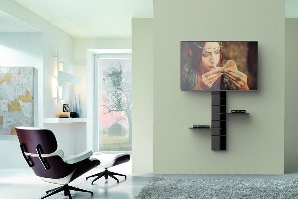 Posizionare la tv con Ghost Cubes in ambiente