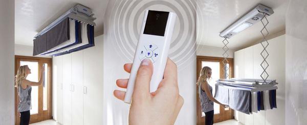 Foxydry Air: stendibiancheria da soffitto con ventilazione