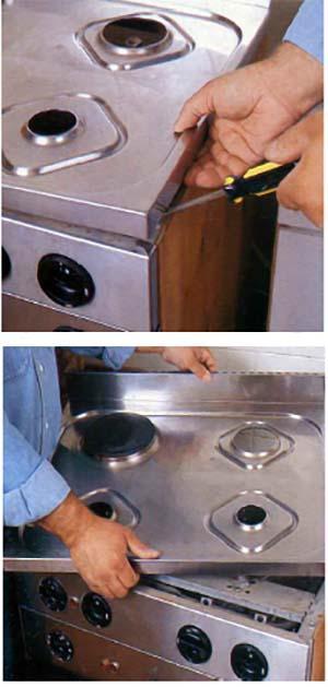 Gli erogatori delle cucine a gas