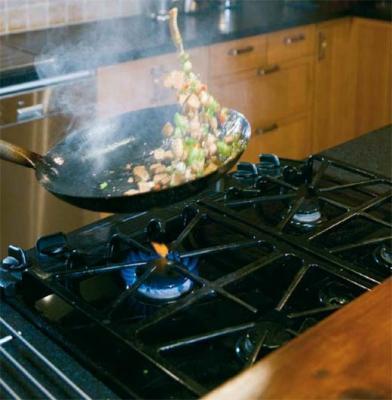 la cucina a gas e i problemi di manutenzione