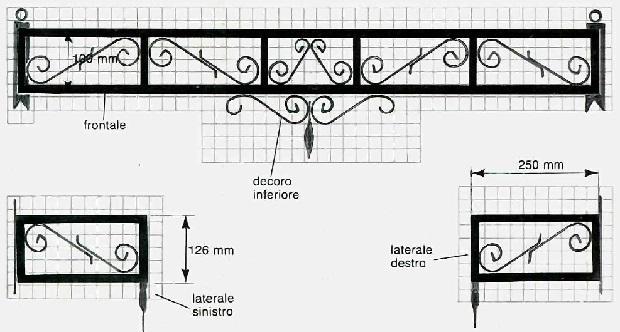 Fioriere in ferro per balconi fai da te