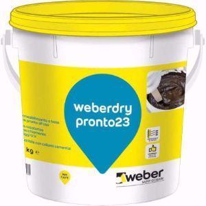 Guaina liquida impermeabilizzante Weberdry Pronto 23