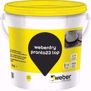 Impermeabilizzazioni con la guaina liquida Weberdry Pronto 23 top