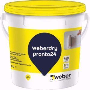 Impermeabilizzare con la guaina liquida Weberdry Pronto 24