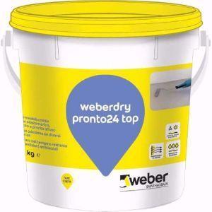Impermeabilizzare con la guaina liquida Weberdry Pronto 24 top