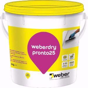 Impermeabilizzare con la guaina liquida Weberdry Pronto 25