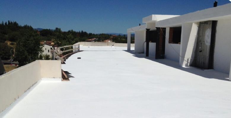 Impermeabilizzazione terrazzo con guaina liquida Weber pronto