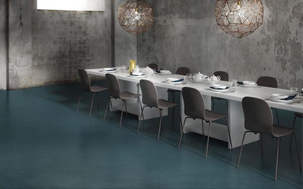 Resina decorativa per pavimenti e pareti: SPAZIOCONTINUO