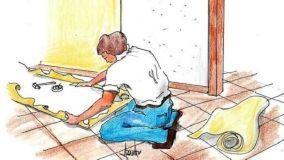 Rivestire le pareti con tessuto