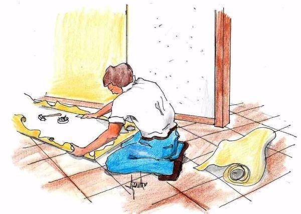 Rivestire le pareti fai da te con il tessuto: montaggio su pannelli fai da te
