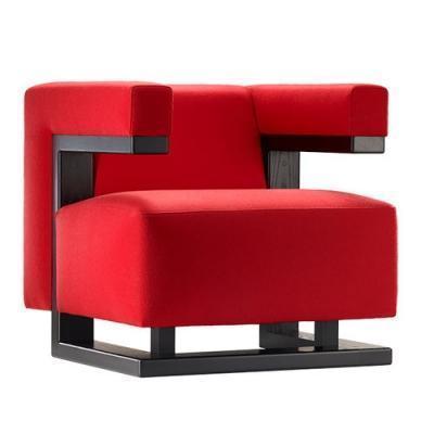 Poltrona originale in stile Bauhaus, proposta da Tecta