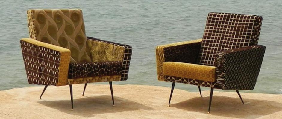 Poltrone stile vintage di Icietlà