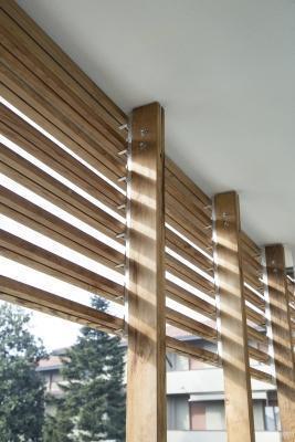 Brisoleil legno lamelle by Galimberti