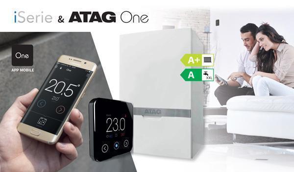 Caldaia a condensazione iSerie e cronotermostato ATAG One