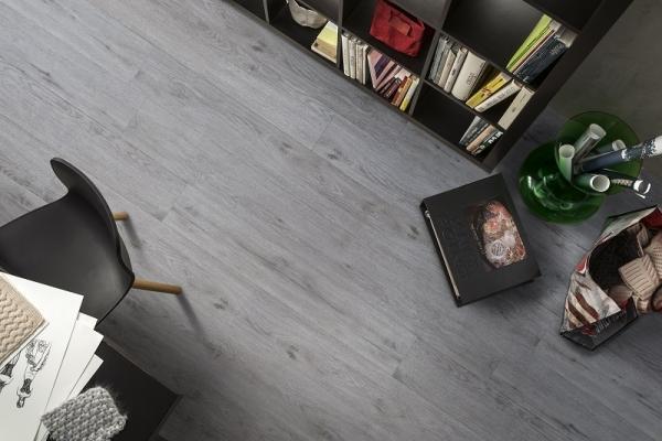 Pavimento in PVC serie ontario grey