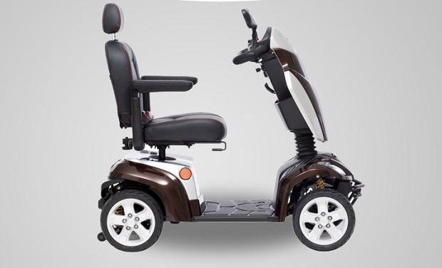 Motocicli elettrici per disabili e anziani di Kymco