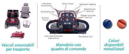 Scooter elettrico disabili TECNOSAN SERVICE